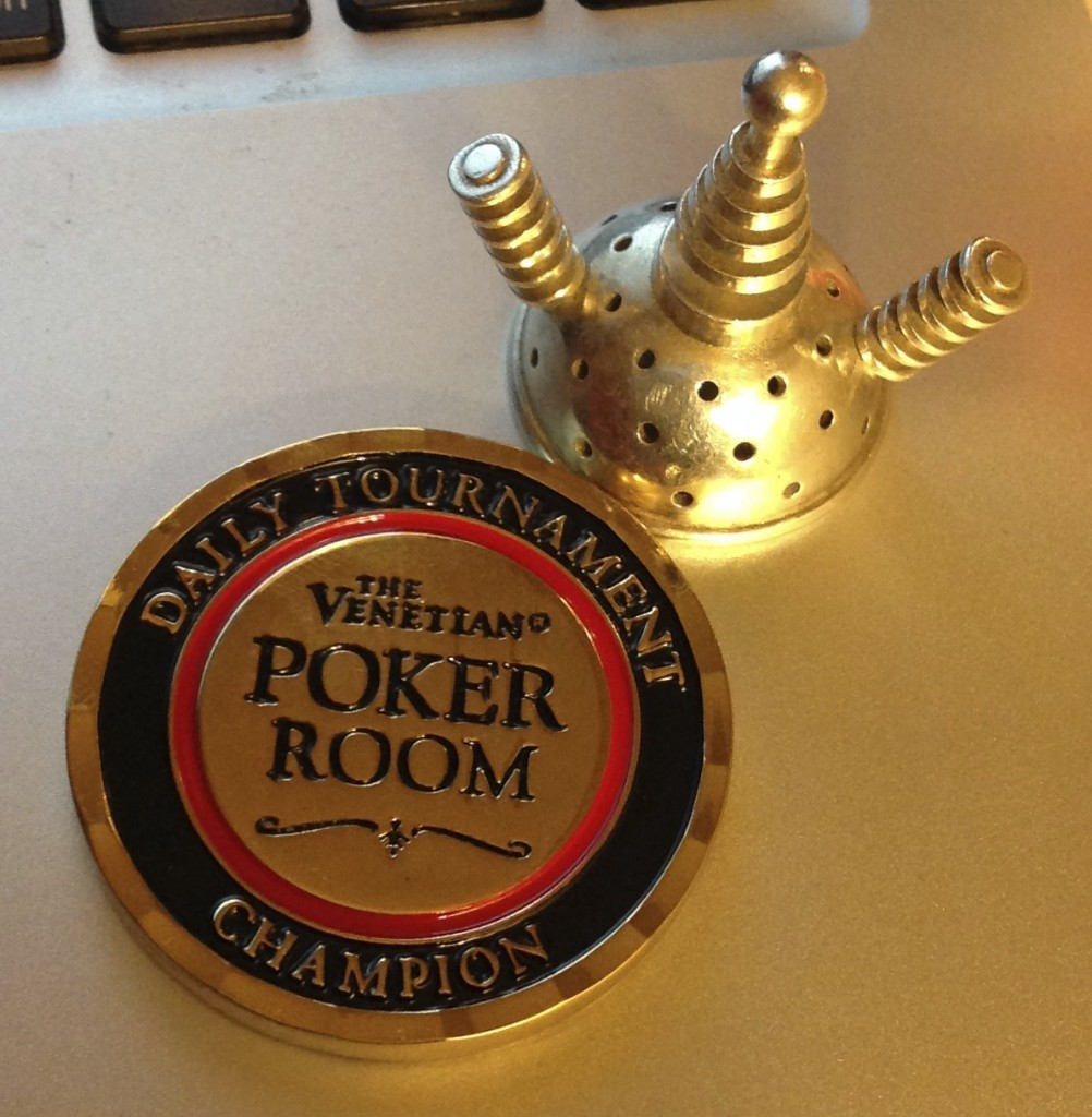Venetian Poker Room Daily Tournament Champion
