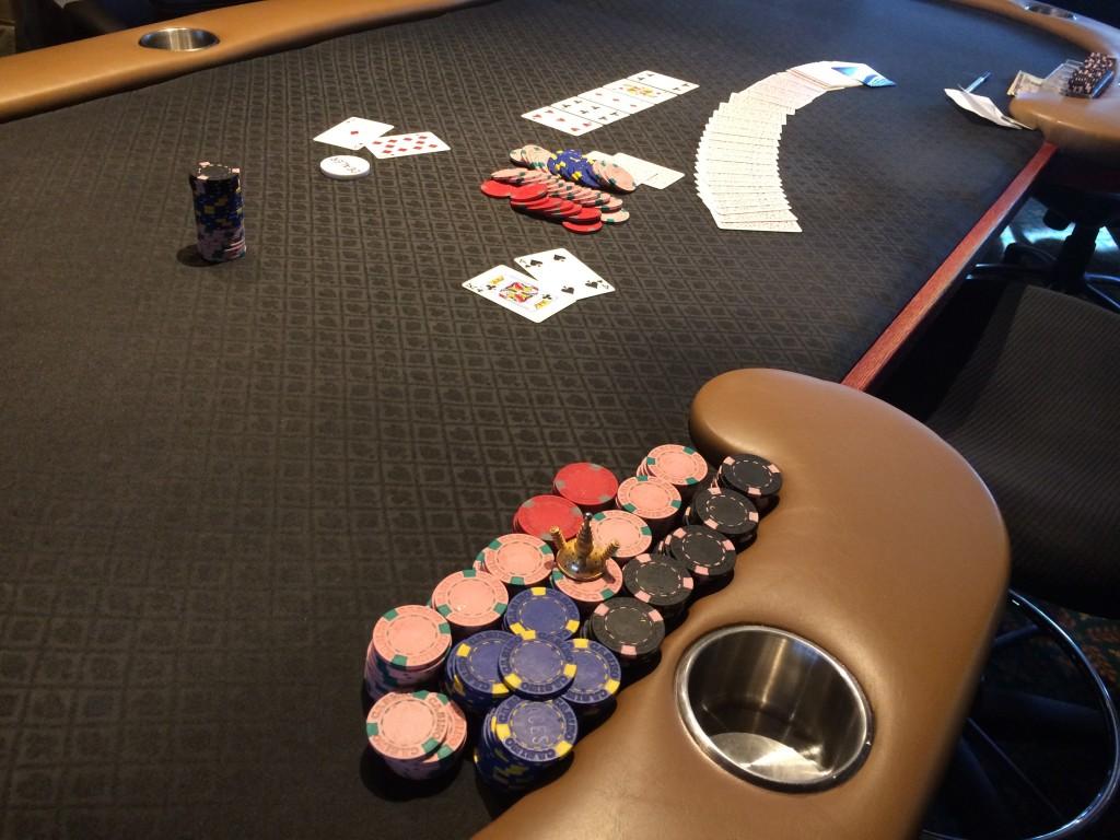 20140922 Aces Full $600 NLHE last hand