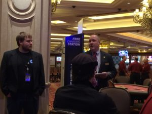 MSPT Media Director Chad Holloway and Venetian Tournament Director Tommy LaRosa